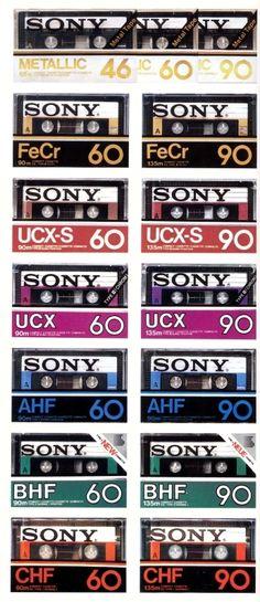 Sony Cassette around 1982