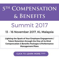 5th Compensation and Benefits Summit 2017