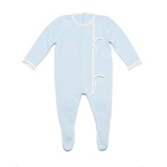 The TOT A PORTER Footie with Knot Details is made from a soft knitted cotton blend, keeping your little one cozy all day long. Featuring footed leggings for extra warmth, this super sweet bodysuit is the perfect gift for a new baby! Key features:  Made of 50% cotton and 50% acrylic Back button closure Footed leggings Machine washable (cold, delicate cycle) Handmade in Spain   ABOUT TOT A PORTER Founded with the goal of enhancing the livelihood of female artisans while creating truly heirlo Online Boutique Stores, Online Boutiques, Baby Leggings, Cotton Leggings, Baby Girl Jackets, Knitted Coat, Baby Warmer, Beige Sweater, New Baby Products