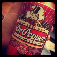 Old School Dr. Pepper