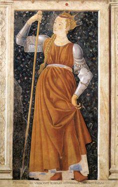 55. Królowa Tomyris z Villi Carducci, Castagno