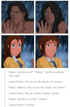Not really a big fan of the art, BUT I've never seen a Tarzan gender bender before.