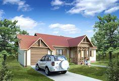 Projekt domu BD 130 - DOM BD1-22 - gotowy projekt domu