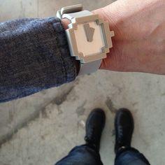 Icon Watch by IDEA on Fancy #Watch #Pixel #Icon $70
