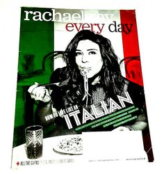 Rachael Ray Every Day Back Issue Magazine Clean October 2018 Italian Food Recipe Issue Magazine, Cooking Supplies, Before Christmas, Italian Recipes, October, Ebay, Food, Meals
