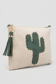 Cactus Canvas Crossbody Clutch  24.00 Cactus Hat de7f54e3f82b7