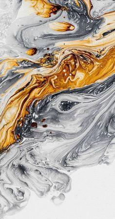 Abstracte schilderkunst Fine Art Print Acryl door LDawningScott