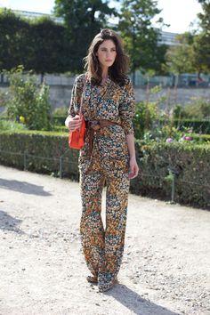 Street Style: Print Jumpsuits 2