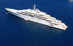 Top 10 Most Expensive Yachts in the World - Eclipse Yacht.