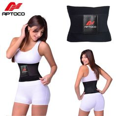 Aptoco Hot Shaper Beauty Corset Sauna Belt Women's Waist Trainer Corsets Waist Trainer Sport Slim Belt Slimming Wraps for Female