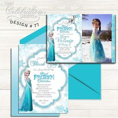 Shop for on Etsy, the place to express your creativity through the buying and selling of handmade and vintage goods. Sweet 16 Invitations, Wedding Invitation Cards, Wedding Stationery, Party Invitations, Princess Birthday Invitations, Printable Birthday Invitations, Queen Birthday, Bar Mitzvah Invitations, Frozen Princess