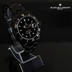 Montre Rolex Submariner DLC