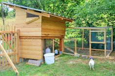Hühnerstall für den Garten