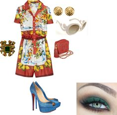 """""""Mediterraneo Outfit!"""" by katyapatti ❤ liked on Polyvore"""