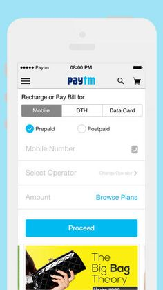 Mobile, DTH Recharge & Shopping