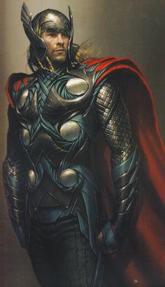Thor Concept Art by Charlie Wen. Ms Marvel, Marvel Comic Universe, Marvel Comics Art, Marvel Heroes, Marvel Characters, Marvel Movies, Marvel Cinematic Universe, Marvel Avengers, Fantasy Characters