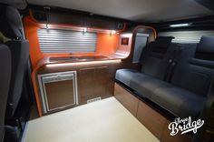 Infinity SWB Aperçu - Trois ponts Campers - VW Camper Conversions - Spécialiste VW T5 T6 Transporter Conversion Camper