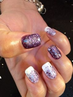 Love these nails. My nails on Acrylic with gel polish.