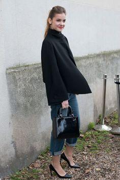 Me gusta mucho este estilismo, simplicidad y elegancia al mismo tiempo.