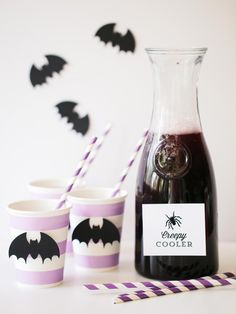 Drink and Punch Bowl Recipes For a Halloween Party | Entertaining - DIY Party Ideas, Recipes, Wedding & Baby Showers | DIY
