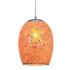 The Crackle orange mosaic glass pendant ceiling light with satin silver finish trim makes a stunning centrepiece for any bedroom, living room, dining room or kitchen ceiling Glass Pendant Shades, Glass Pendant Light, Ceiling Pendant, Glass Pendants, Glass Shades, Pendant Lighting, Ceiling Lights, Oval Pendant, Kitchen Pendants