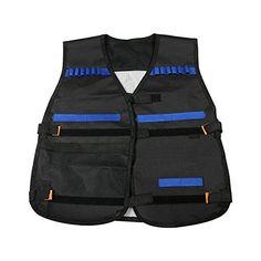 MageCraft Elite Tactical Vest Kit For Nerf N-strike Elite Series,Nerf Super Soaker Series