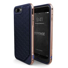 X-Doria Defense Lux iPhone Case brings together refined luxury and durability to create the ultimate iPhone 7 Plus protective case. Defense Lux Case is a leather iPhone case with military-grade drop p