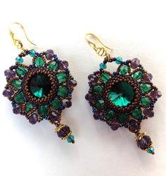 Beautiful Embroidered Beaded Jewelry by Irina Chikineva Featured Inspiration Newsletter, Bead-Patterns.com