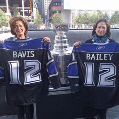 Bavis and Bailey family at 9/11 Memorial with #stanleycup (via @keeperofthecup