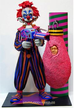killer klowns from outer space statues - Google Search