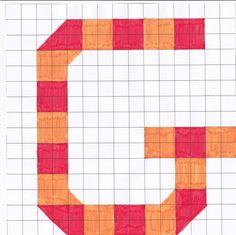 Mozaïek letter G