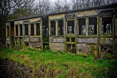 Abandoned Railway Carriage