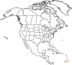 Printable Map Of Africa | Africa World Regional Blank Printable map ...
