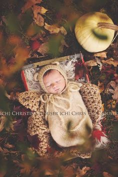 SET Beige Mohair Teddy Bear Hat and Knit Swaddle Cocoon Sack | Beautiful Photo Props
