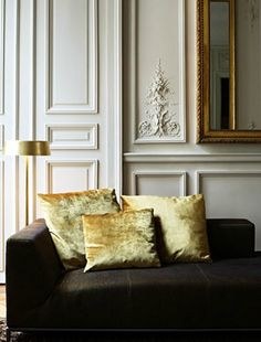 Feast your eyes on this Paris apartment designed by Karl Fournier and Olivier Marty | Yellow accents