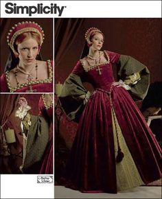 Simplicity 2589 Sew Pattern WOMEN'S ELIZABETHAN COSTUME Size 8-16 null,http://www.amazon.com/dp/B0035DBCOM/ref=cm_sw_r_pi_dp_bmT5sb1XJP42KT6V