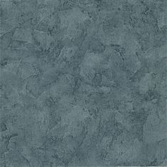 Introduce Tuscan styling with this blue and grey wallpaper featuring the look of textured stucco. This wallpaper comes unpasted for versatility, and the washable design makes your walls easy to clean.