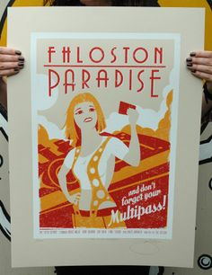 The Fifth Element Hand Pulled Limited Edition Screen Print £35.00