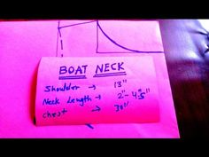 Boat Neck Cutting and Stitching In Hindi/Urdu - YouTube
