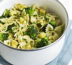 Courgette, broccoli & gremolata pasta