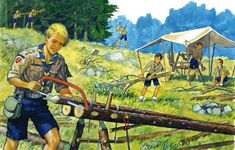 """A Scout Is Thrifty   - """"Healthy Christian moral values make for happier kids & and a greater nation."""""""