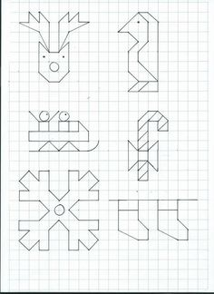 Graph Paper Art, Crafts For Kids, Arts And Crafts, Learn To Draw, Blackwork, Kids Learning, Pixel Art, Quilt Blocks, Art Projects