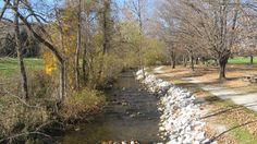 Carroll Valley Fitness Trail near Gettysburg PA