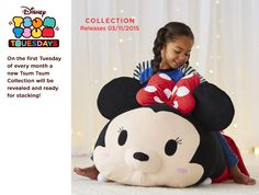 Mega Tsum Tsums will be available on November 3rd.