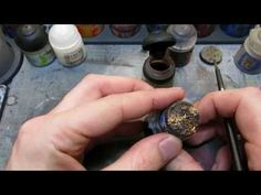 Easy Wet Mud Effect Bases - Warhammer or Wargaming - YouTube
