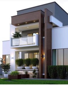 Pictures Of Modern House Designs. 20 Pictures Of Modern House Designs. 49 Most Popular Modern Dream House Exterior Design Ideas 3 Home Design, Design Ideas, Blog Design, Minimalist House Design, Modern Minimalist, Modern Small House Design, Modern Design, Small Modern Houses, Tiny Houses