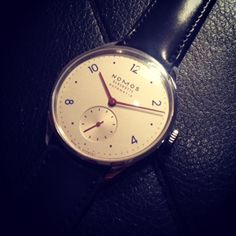 A snippet from the Nomos Glashutte collection. #LivefromBaselworld2015