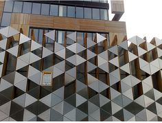 Facade pattern architecture  Vertical fins give dimensionality to Brock Street's facade and ...