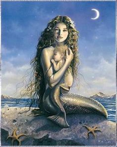 David Delamare...I bought myself one & one for my mom. I framed it & it hung in my bedroom. No one paints more beautiful mermaids than David!!!