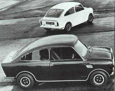 Mini Broadspeed 1966 // Want, just for the exclusivity. Also, it seems the BMW/MINI coupé wasn't as outlandish as I thought it was.